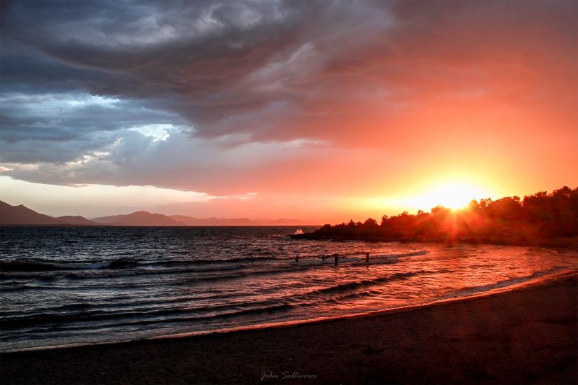 Sunset, Nea Artaki